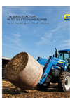 New Holland - Model TS6 Series – Tier 4B - Tractors Brochure