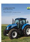 New Holland - T5 Series - Tractors - Brochure