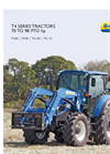 New Holland - T4 Series Tier 4A - Tractors - Brochure