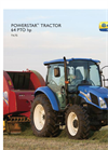 New Holland PowerStar - T4 Series - Tractors - Brochure