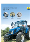 New Holland PowerStar - T4 Series – Tier 4B - Tractors - Brochure