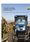 New Holland - T4F Series - Narrow Tractors - Brochure