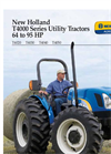New Holland - T4000 Series - Tractors - Brochure