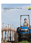New Holland - TD4040F - Narrow Specialty Tractor - Brochure