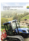 New Holland - TK4000 Series - Crawler Tractors - Brochure