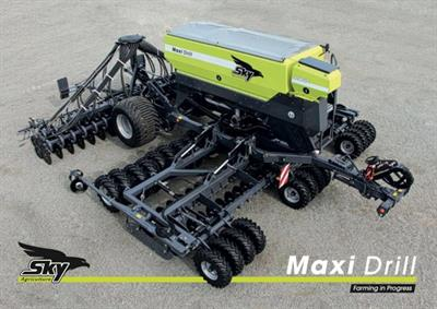 SKY - Model Maxi Drill - Trailed Seed Drill