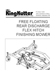 Rear Discharge Finishing Mowers RFM-60- Brochure