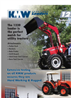 KMW - Model 1220 - Front End Loader - Datasheet