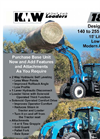 KMW - Model 1860 - Front End Loader - Datasheet