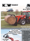 KMW - Model 1660 - Front End Loader - Datasheet