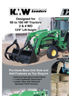 KMW - Model 1750 - Front End Loader - Datasheet