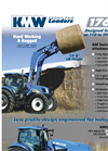 KMW - Model 1760HL - Front End Loader - Datasheet