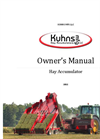 Kuhns Mfg Owners Manual 2012