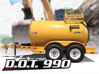 LeeAgra - Model D.O.T. 990 - Diesel Fuel Trailer