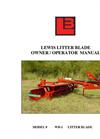 Poultry Litter Blade Brochure