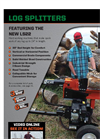 Log Splitter - Brochure