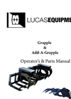 Grapple & Add-A-Grapple Operators & Parts Manual