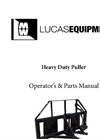 Heavy Duty Puller Operators & Parts Manual