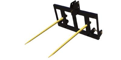 3-Point Double Tine Round Bale Stabber