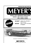 Model M 300 - Single & Tandem Spreaders Brochure