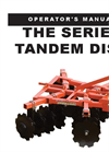 Tandem - Model THE Series - Lift Disc Harrows Brochure