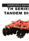 Tandem - Model TH & TH/BF Series - Lift Disc Harrows Brochure
