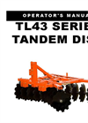 Tandem - Model TL43 Series - Lift Disc Harrows Brochure