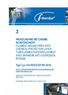 Model CSVE 16/10 - Filament Wound Pipes Brochure