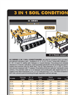 Model SC series - 3 in 1 Soil Conditioners Brochure