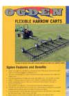 Ogden - Flex Tine Harrow Carts -Brochure