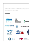 FLOWW Best Practice Guidance for Offshore Renewables Developments: Recommendations for Fisheries Liaison Brochure