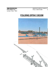 Folding Spray Boom Brochure