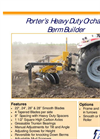 Porter - Heavy Duty Orchard Berm Builder Brochure