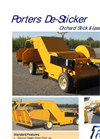 Porters - De-Sticker for Orchard Stick & Leaf Removal Datasheet