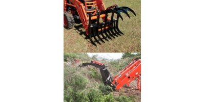 Model 333 Series - Standard Duty  Grapple Rake