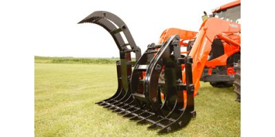 Model 344S72  & 344D72 - Single Grapple Rake