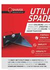 Heavy-Duty Utility Spade Brochure