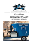 SAC - Maxi-Mixer 3500V Series - Feed Mixers - Manual