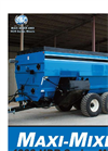 Model 4000 Series Maxi-Mixers - Cubic Foot Mixers for High Density Rations - Brochure
