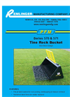 Model 570 & 571 Series - Tine Rock Bucket Brochure