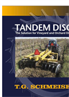 Model RTM - Reversible Type Tandem Disc Disc Brochure
