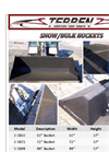 Snow Bucket - Brochure