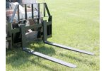 Tri-L - Model LPSS-42-48 - Pallet Forks for Skid Steer Loaders