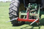 Tri-L - Model 3PT-2500QH1-2 - 3-Point Quick Hitch Double Hay Spear