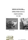 Seed Slinger Brochure