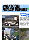 Narrow Profile - Model 250 - Fertilizer Spreader Brochure