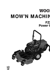 Model FZ25D - Zero Turn Mowers Manual