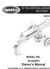 401625PH 25 Ton - Log Splitter Brochure