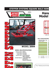 Extreme Duty Small Bale handlers Model 2504- Brochure