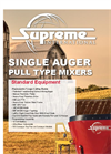 Model 400 - Pull Type Single Auger Mixer Brochure